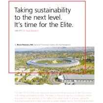 Taking sustainability to the next level. It's time for the Elite