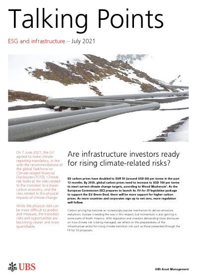Talking Points: Are infrastructure investors ready for rising climate-related risks?