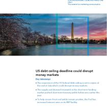 US debt ceiling deadline could disrupt money markets