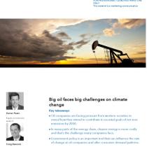 Big oil faces big challenges on climate change
