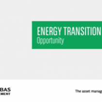 Energy transition – A very exciting place to be investing in now