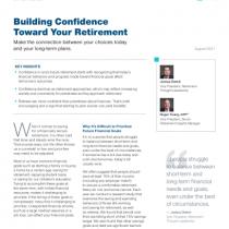 Building Confidence Toward Your Retirement