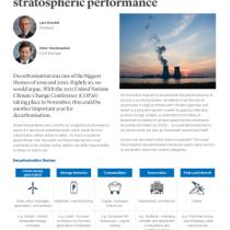 Decarbonisation: seeking stratospheric performance 2021