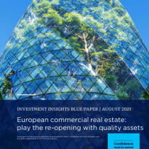 European commercial real estate: play the re-opening with quality assets