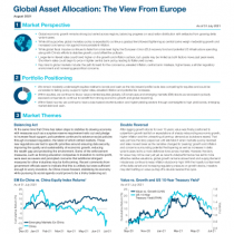 Global Asset Allocation: The View From Europe