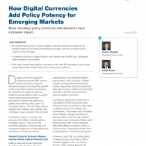 How Digital Currencies Add Policy Potency for Emerging Markets
