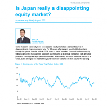 Is Japan really a disappointing equity market?
