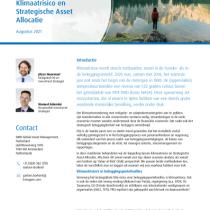 Klimaatrisico en Strategische Asset Allocatie
