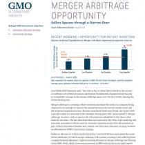 Merger Arbitrage Opportunity
