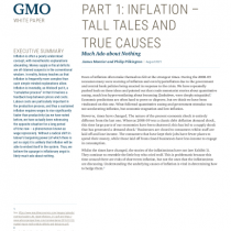 Part 1: inflation – tall tales and true causes