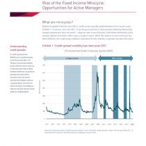 Rise of the Fixed Income Minicycle: Opportunities for Active Managers