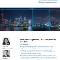 What does heightened China risk mean for Investors?