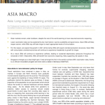 Asia: Long road to reopening amidst stark regional divergences