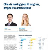 China is making good RI progress, despite its contradictions