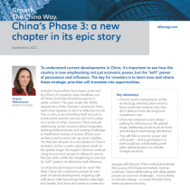 China's Phase 3: a new chapter in its epic story