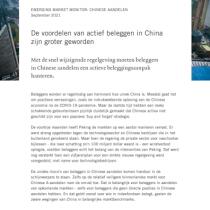 De voordelen van actief beleggen in China zijn groter geworden