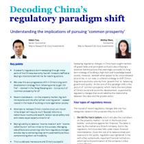 Decoding China's regulatory paradigm shift