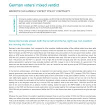 German voters' mixed verdict