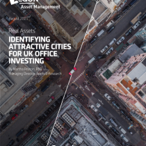 Identifying attractive cities for UK office investing