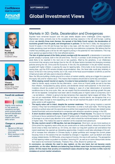Markets in 3D: Delta, Deceleration and Divergences