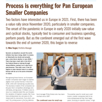 Process is everything for Pan European Smaller Companies