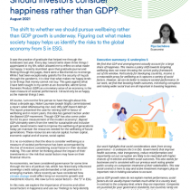 Should investors consider happiness rather than GDP?