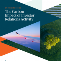 The Carbon Impact of Investor Relations Activity