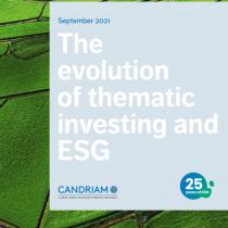 The evolution of thematic investing and ESG