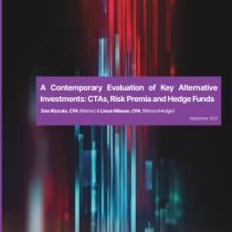 A Contemporary Evaluation of Key Alternative Investments: CTAs, Risk Premia and Hedge Funds