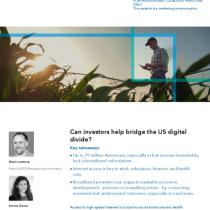 Can investors help bridge the US digital divide?