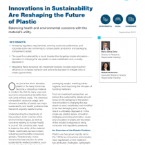 Innovations in Sustainability  Are Reshaping the Future of Plastic